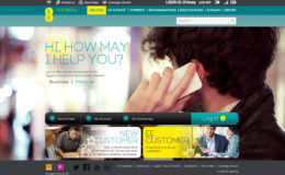 EE Welcome page